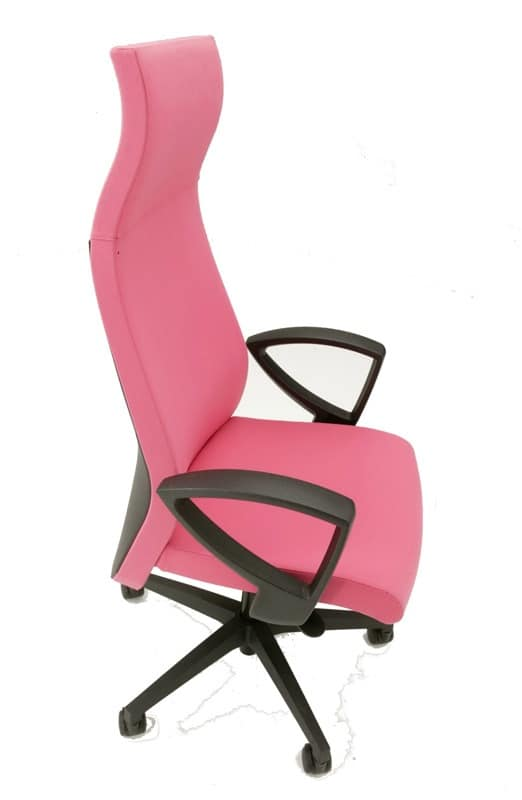 Energy 80011N, Office chair with lumbar support, with wheels