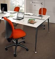 Gummy task 0960, Office chair without armrests, tall backrest
