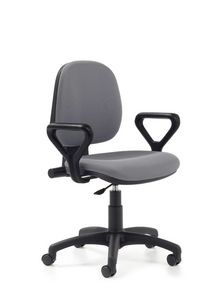 Indaco 442, Task chair for office with low back