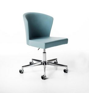 Kont� gas, Height adjustable chair, on castors