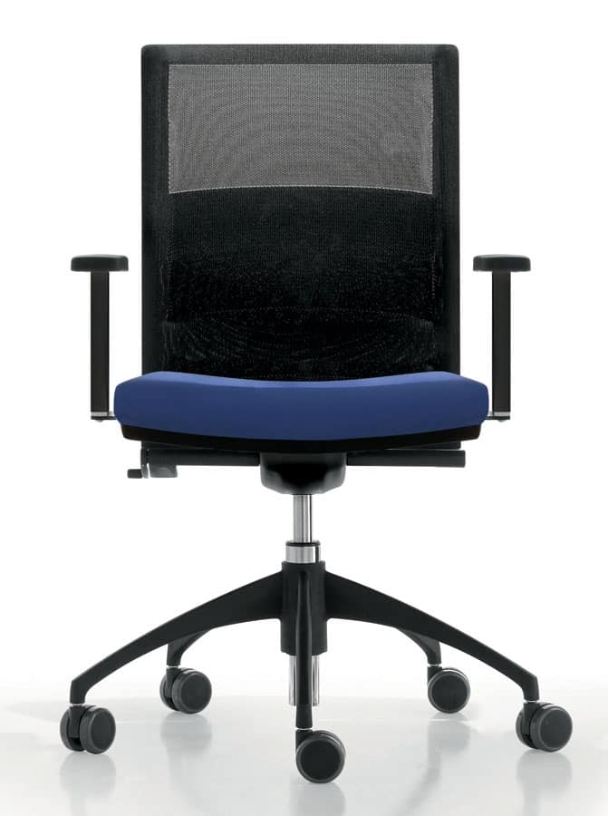 La Mesh Task Chair For Office With Wheels Backrest