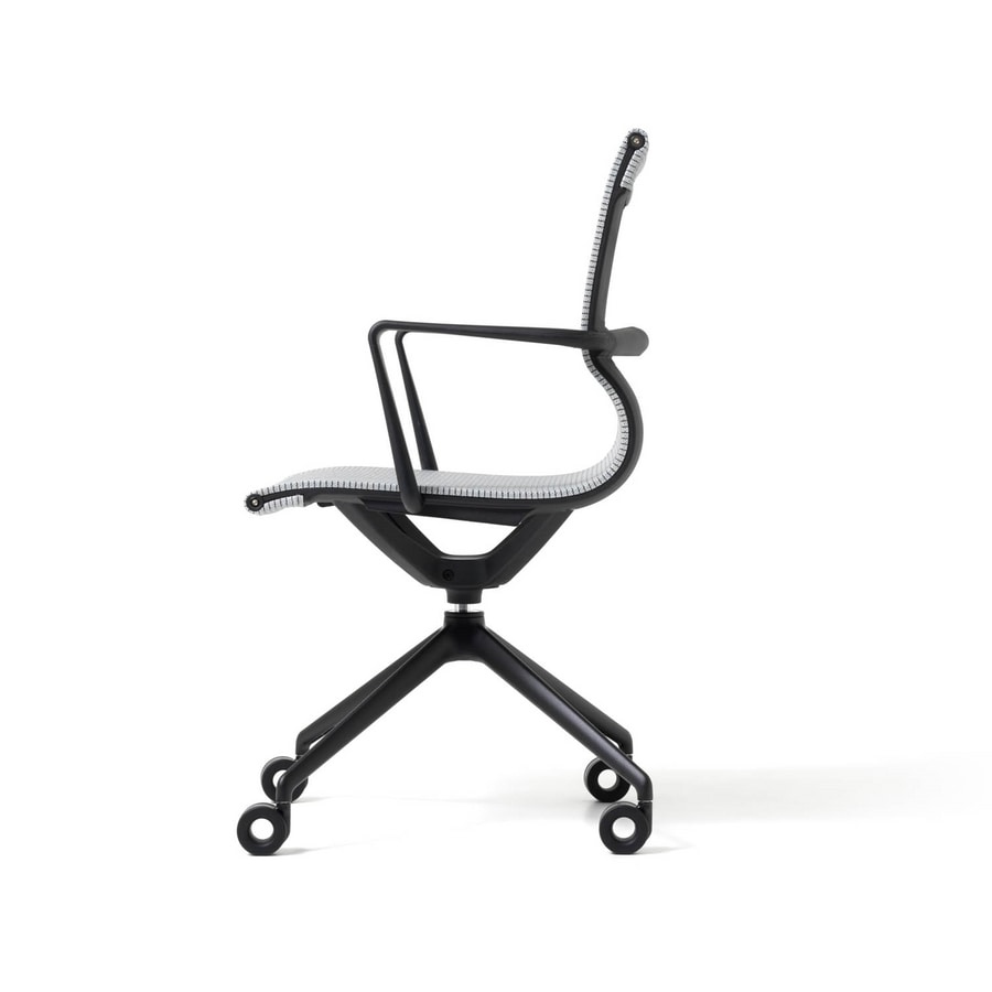 Liberty 4 razze, Office chair with mesh seat and back