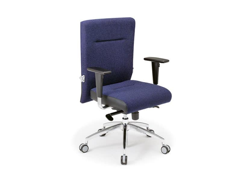 Non Stop task 24hc 51120, Office chair covered in fabric