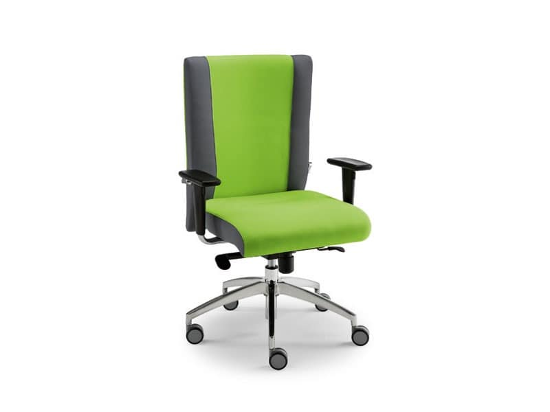 Non Stop task 24hc 51150, Task chair with wheels, ideal for call centers