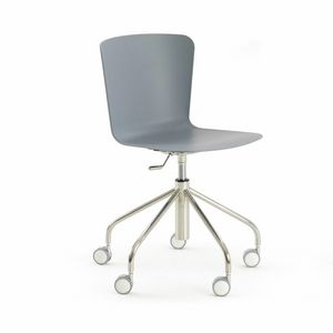 s25 vittoria, Chair with swivel wheels