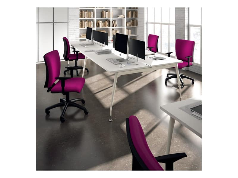 Sprint 17975-N, Operational office chair with adjustable armrests