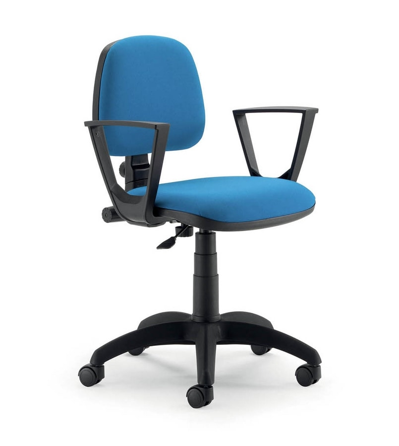 UF 307, Task office chair, with armrests, fast, modern