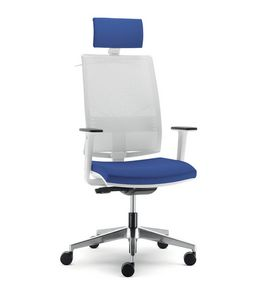 UF 432 / A, Chair for office with wheels, with various adjustments
