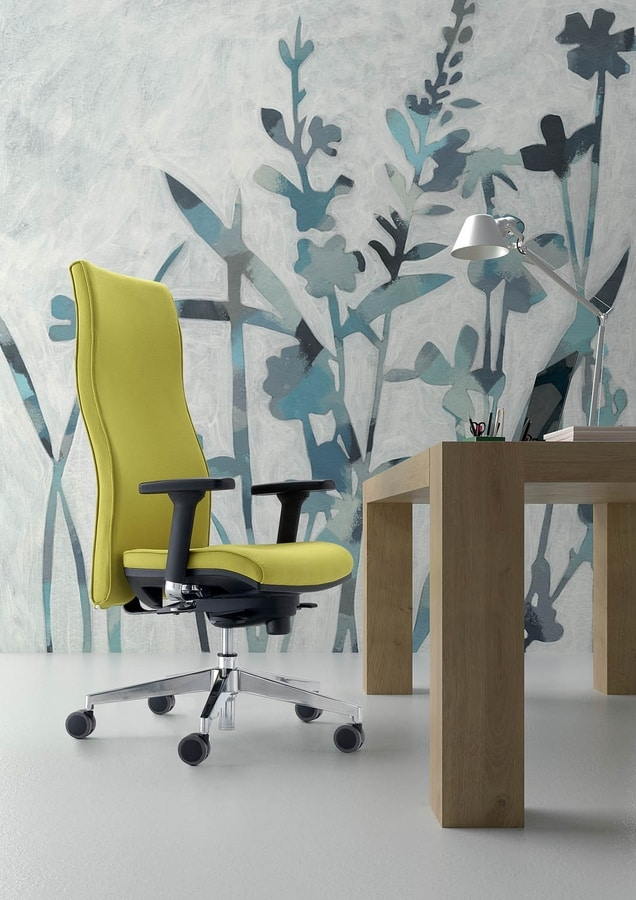 UF 444 / A, Task office chair, ergonomic and luxurious