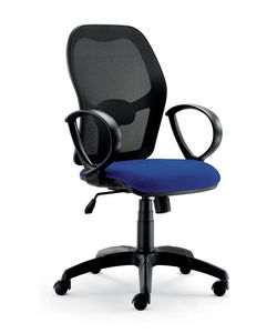 UF 457, Office chair, with new design, with circular armrests