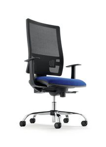 UF 492 / B, Task chair with up & down system, for office