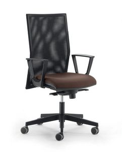 UF 497 B, Operational office chair, side shift mechanism