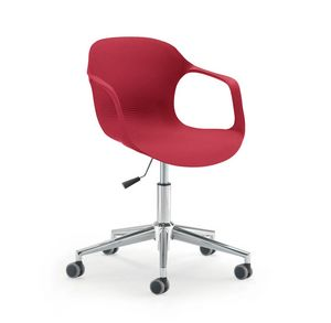 UF 853 / B, Chair on castors, adjustable in height