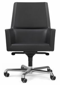 Web armchair president 10.0113, Executive leather office chair