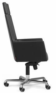 Web armchair president with headrest 10.0114, Office armchair with high back