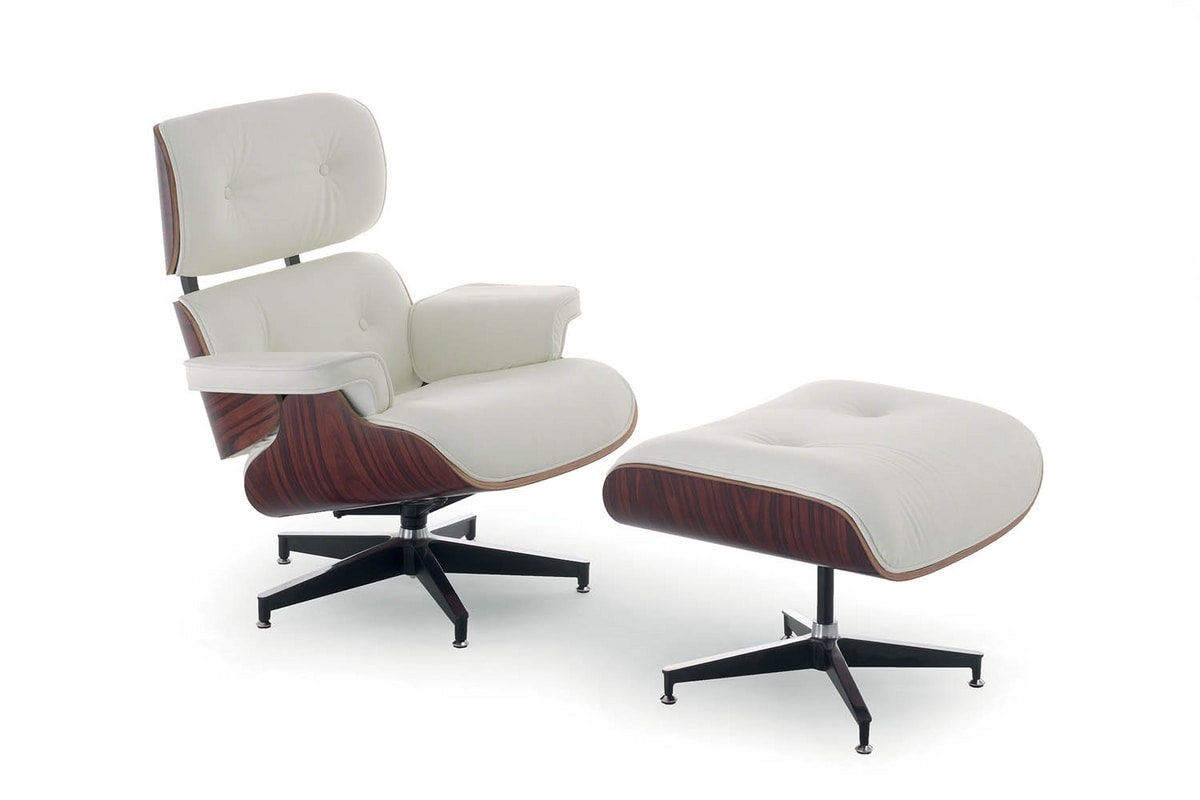 UF 158, Lounge chair with ottoman for lounging areas and office