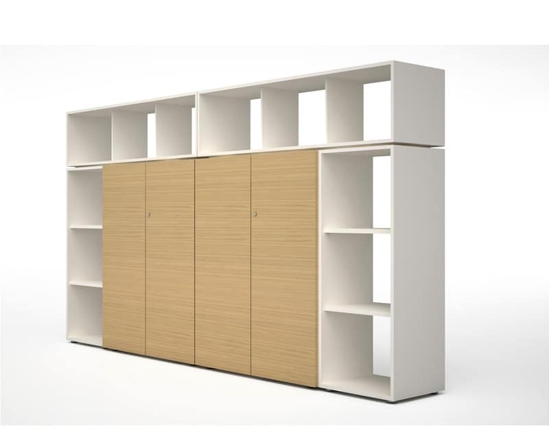 Operational Modular Storage System For Office Idfdesign
