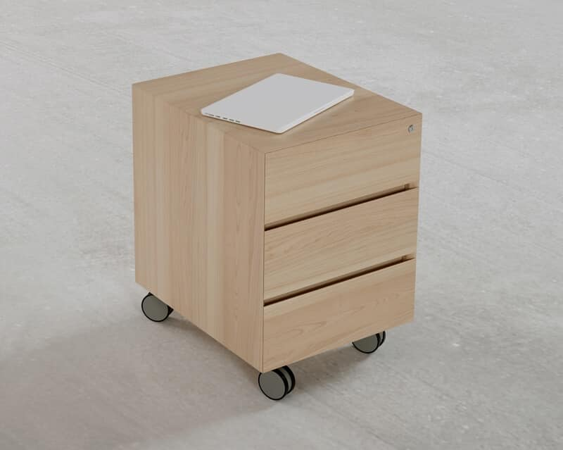 Exceptional Office Drawer Units Wood, Chest Of Drawers On Wheels For Writing Desk, For  Office