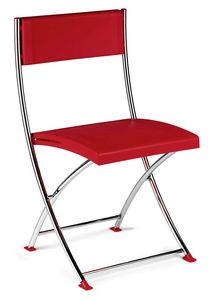 UF 102, Folding chair with thin frame, for conference