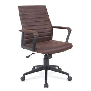 Armchair ergonomic office chair faux leather Linear � SU001LIN, Ergonomic chair with eco-leather, rugged, for office