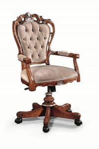 Art. 527g, Classic office chair with tufted backrest