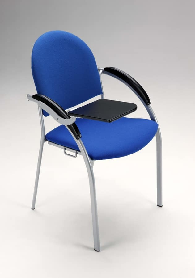 Beba, Metal upholstered chair for conferences and meetings