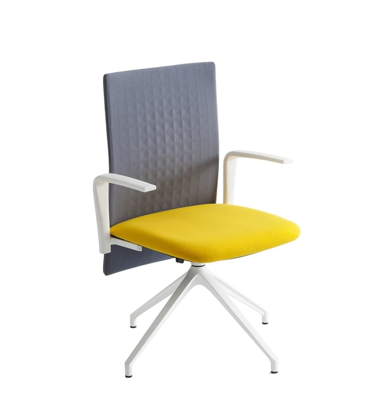 Elodie Manager U, Sound-absorbing chair for office