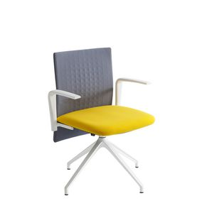 Elodie Task U, Office swivel chair with sound-absorbing backrest
