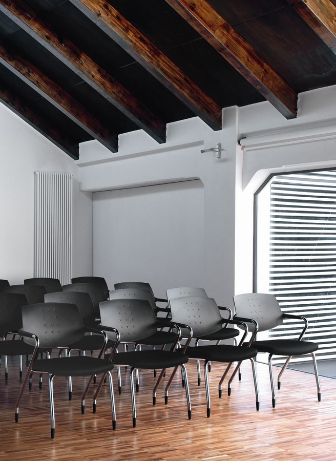 EURA conference, Padded chair, versatile, for contemporary office and conference room