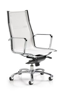 Kristal 3700, Executive office chair in PVC mesh