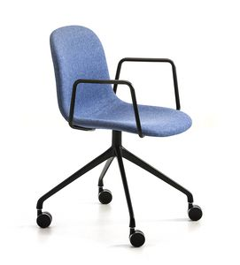 M�ni Fabric AR-HO-4, Office chair with armrests