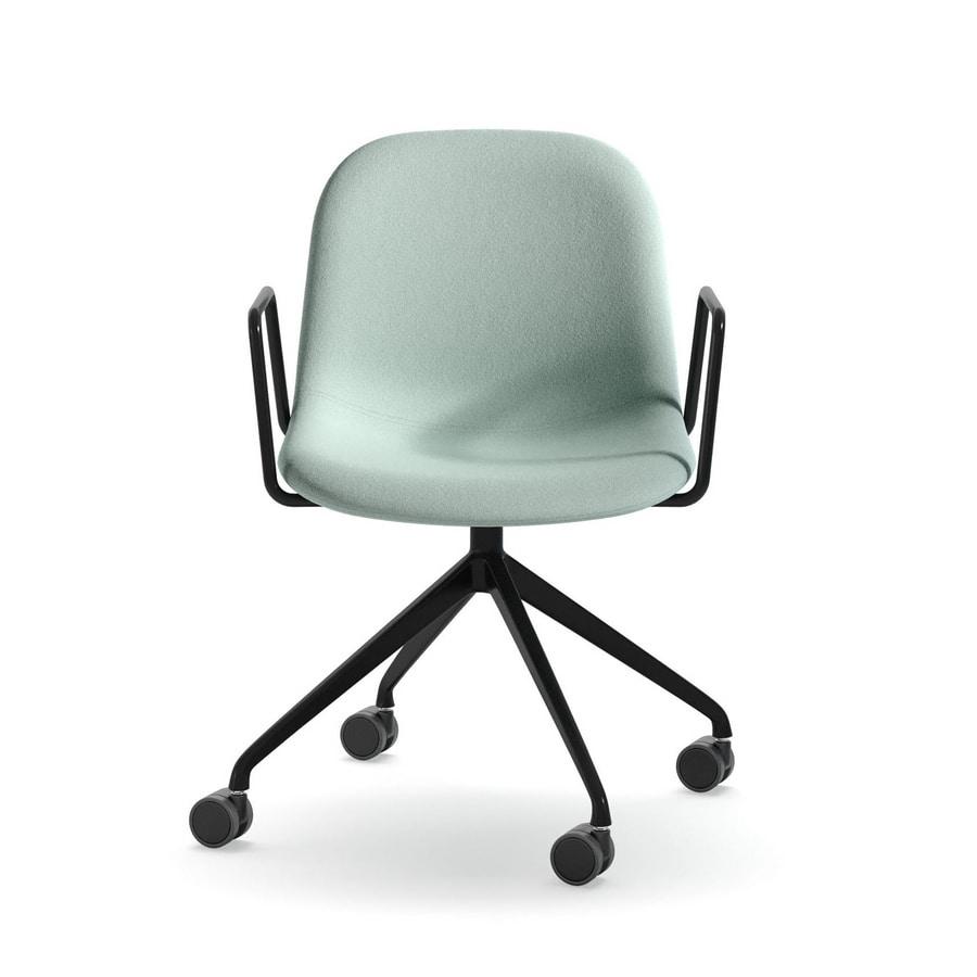 Máni Fabric AR-HO-4, Office chair with armrests