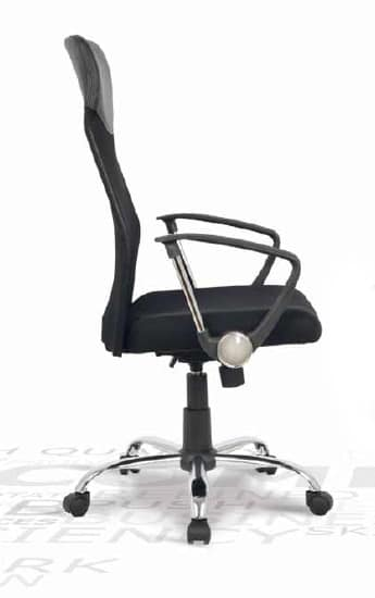 Masha, Office chair with mesh backrest