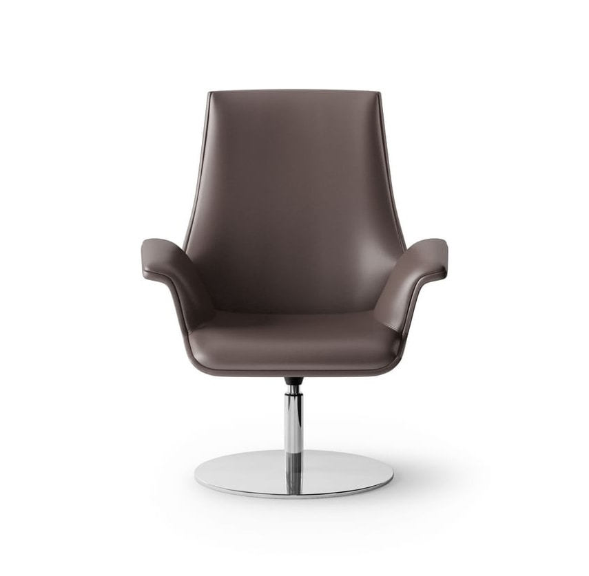 Maxima Waiting Chair Swivel With Disk Base
