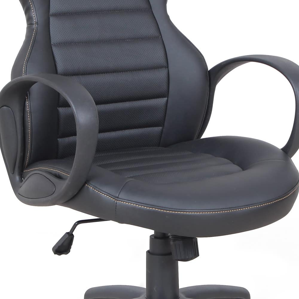 Presidential armchair racing sport gaming chair – SU092RAC, Directional chair in imitation leather, with armrests