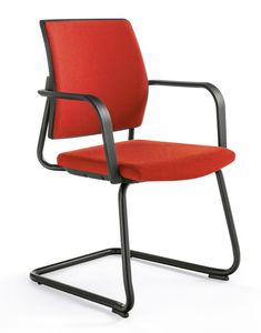 Q44, Upholstered chair with sled base