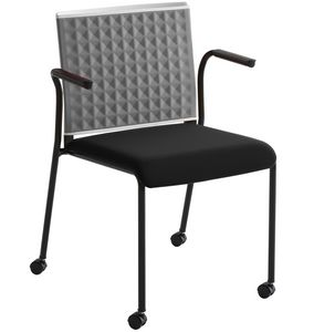 Teckel T B R, Office chair with armrests