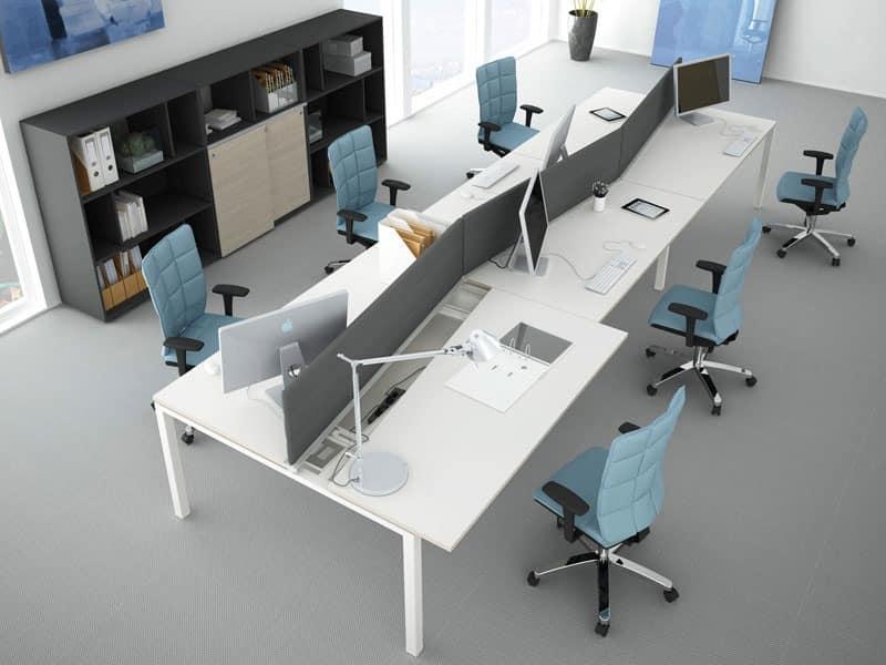 Office Modular System Bank Idfdesign