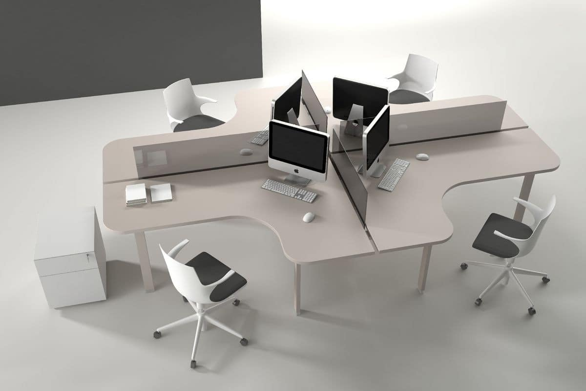 Atreo Comp 5 System Operating Tables Modern And Functional Offices