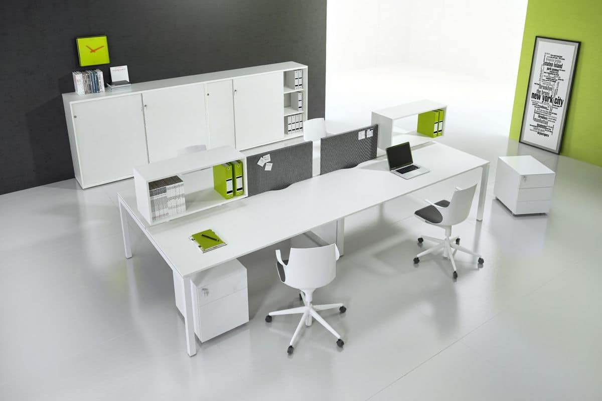 Modern furniture suited for operative office   IDFdesign