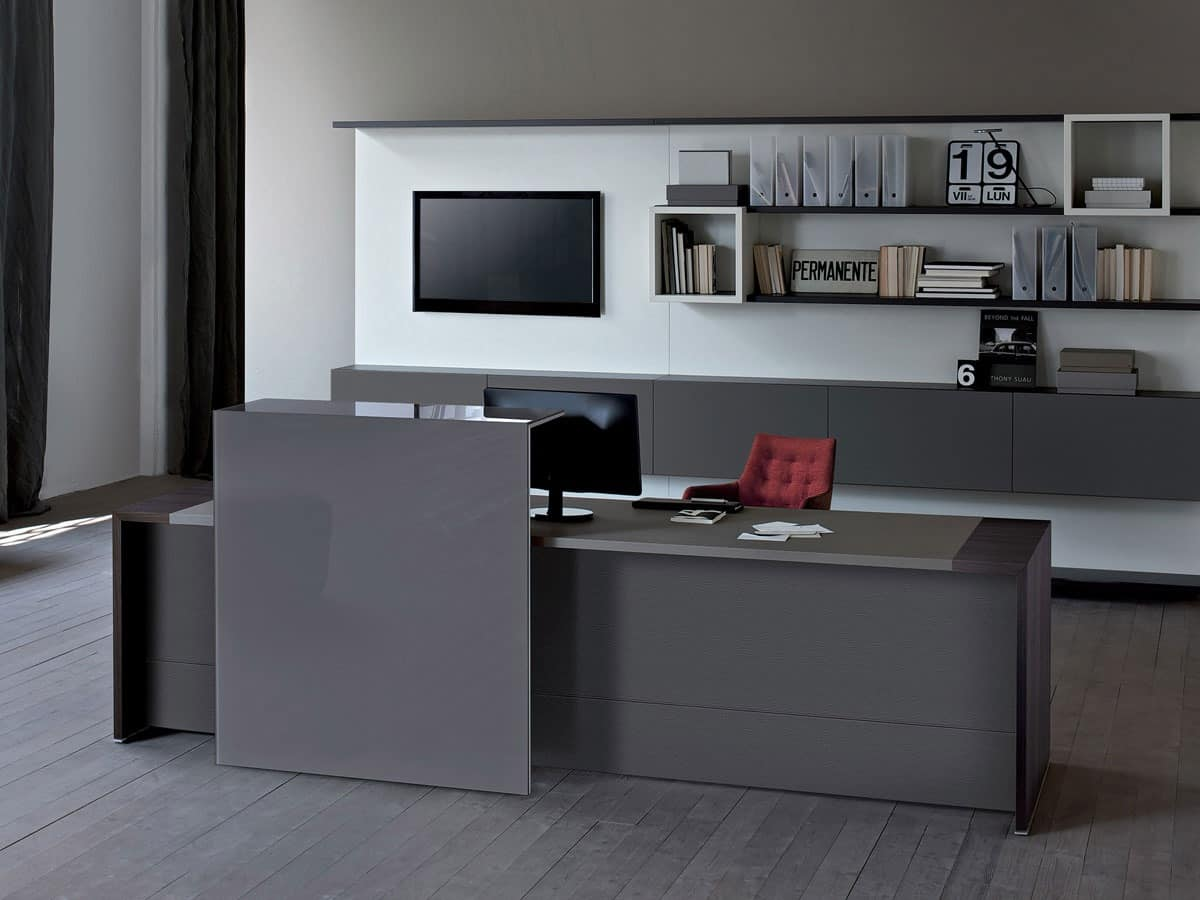 Cool Reception Cabinet And Counter Furniture For Office Entrance Home Interior And Landscaping Synyenasavecom