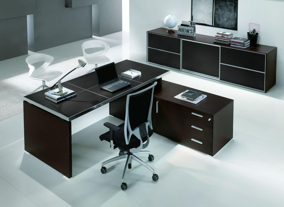Executive office furniture functional modern style for Design ufficio srl