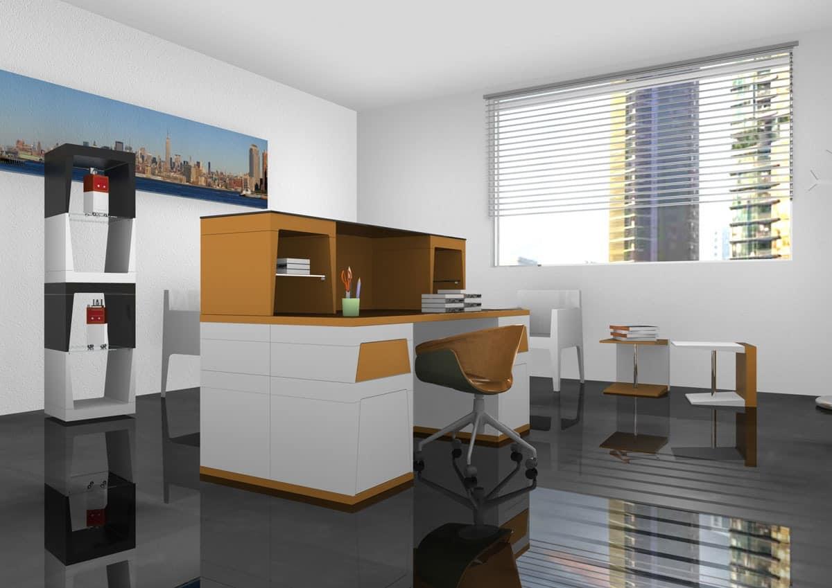 Reception, Modular laminate desk for operative Office
