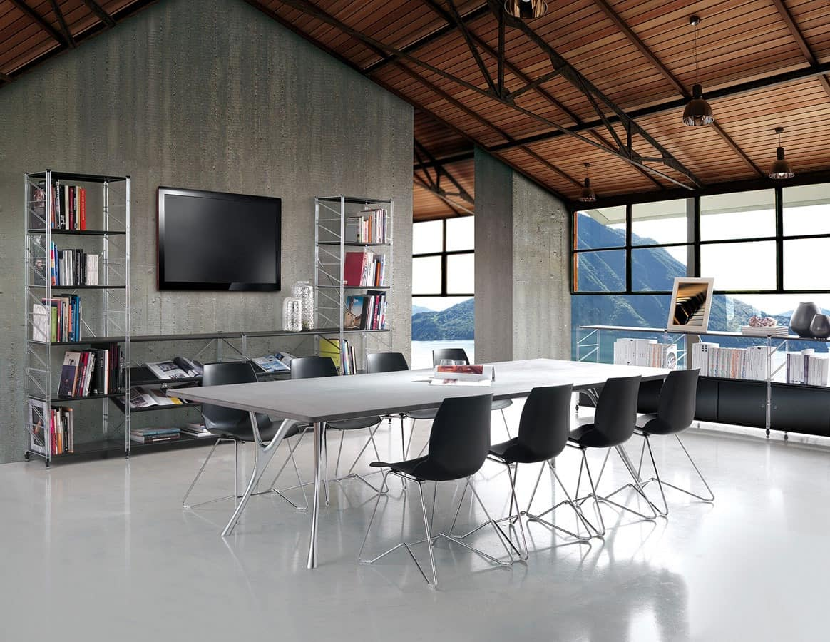 Socrate meeting room, Modular furniture for meeting rooms and offices