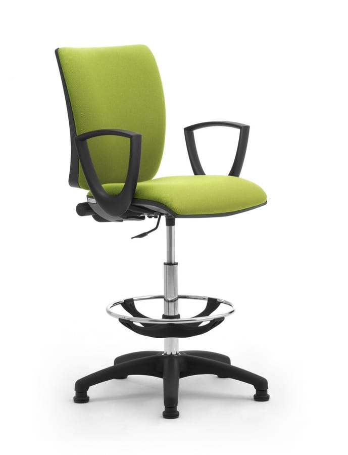 Sprint stool, Comfortable and adjustable stool for prolonged use