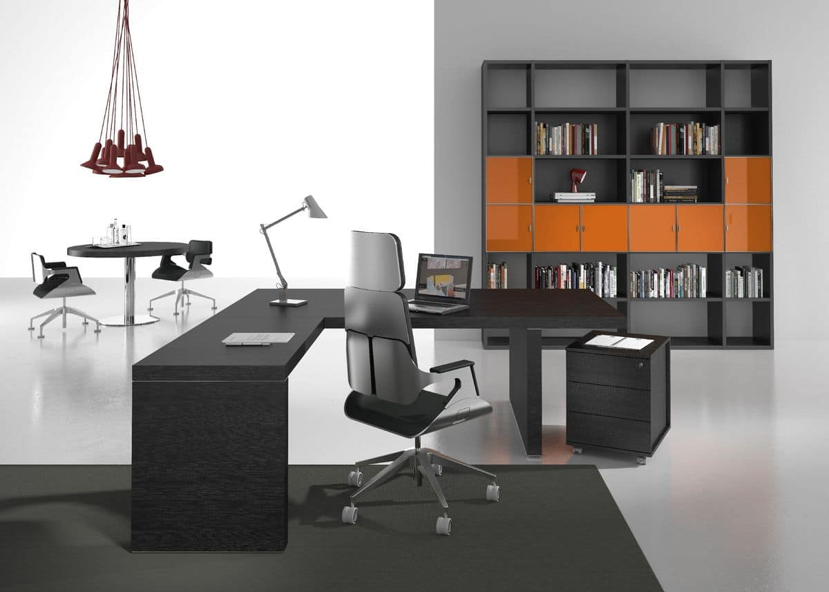 Titano Comp.5, Executive Office Furniture, Functional And Modular
