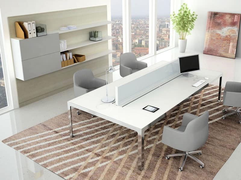 Workwall, Wall modular Bookcase for modern office