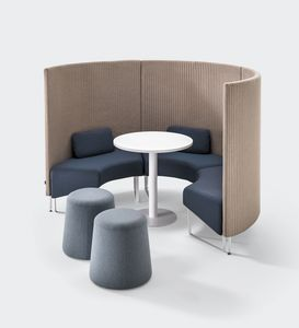 BASE, Sound absorbing modular system for conversation areas