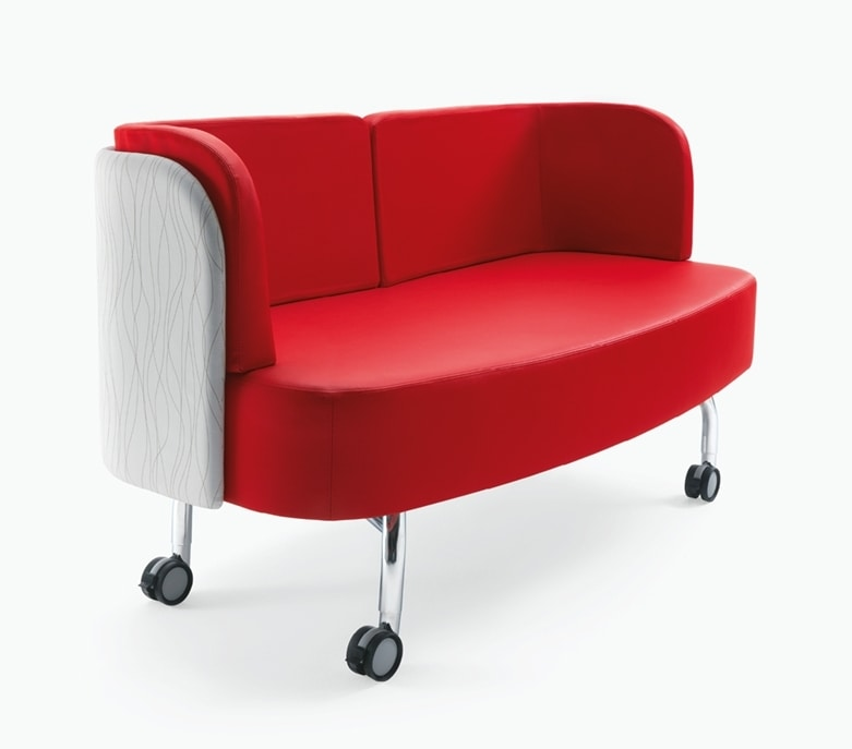 Blog, Sofa on wheels, for office and waiting room
