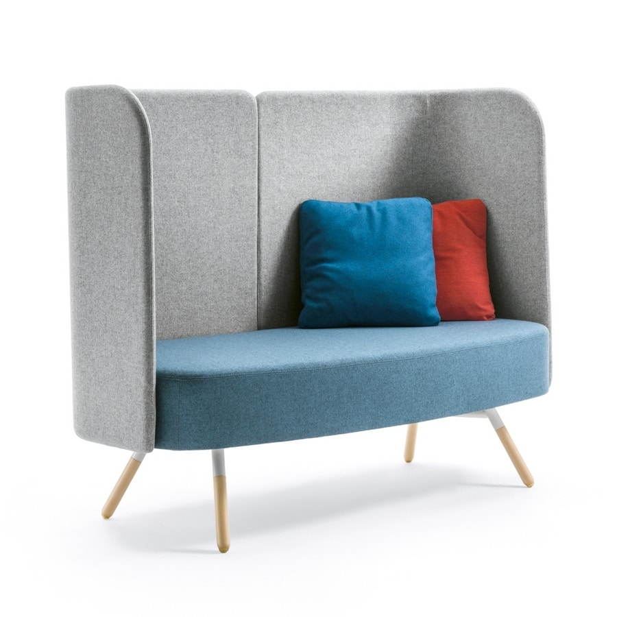 Blog, Waiting sofa with high backrest